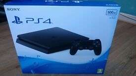 PS4 Slim 500gb (BRAND NEW AND SEALED)