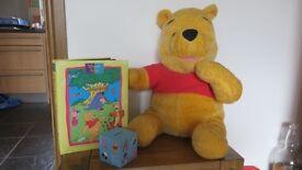 Large Talking Winnie the Pooh, Photo Album and Money Box