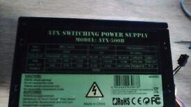 ATX 500 Watt Switching PSU