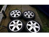 Audi tt4 Alloy wheels