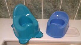 Free; two potties
