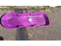 Free snow sledge, collect from Trumpington