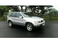 2003 bmw x5 full leather full year mot £2450