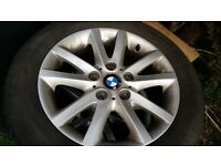 Bmw alloys .winter tyres