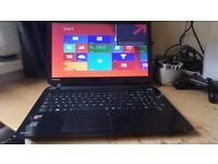 MASSIVE GAMMING SPEC LAPTOP!!! TOSHIBA AMD QUAD CORE A8 SCULLCANDY EDITION