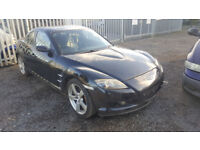 MAZDA RX8 192 2004. PRICE IS FOR THE COMPLETE CAR. 88000 MILES ALL PARTS AVAILABLE