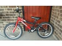 Boys bike 18inch wheel