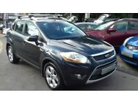 2008/08 FORD KUGA 2.0 TDCI TITANIUM 4X4, GREAT LOOKING PRACTICAL FAMILY 4X4 WITH COLOUR SAT NAV