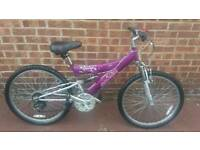 Girls Raleigh mountain bike
