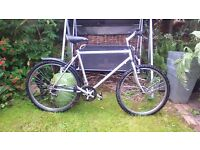 "mens mountain bike 19"" suit 5,7 -6,00 approx ideal work cheap transport"