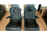 2x G force 2 X rocket ..gaming chair..good condition