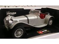 BURAGO JAGUAR SS100 1937 vintage model