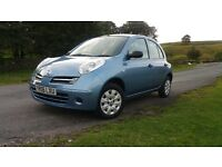 NISSAN MICRA 1.2 5 DOOR LADY OWNER VERY NICE CONDITION THROUGHOUT