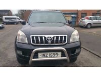 2006 LandCruiser LC4 3.0 Diesel 4x4 8Seater 163000 miles 8 Seat MPV NOT 7seater
