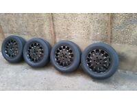 Mercedes C, E, S Class or Clk Slk Vito or Viano 16 inch alloy wheels 5 x112