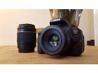 Excellent Condition - Canon 700D DSLR - 18-55mm Kit Lens (Shutter Count: 514)