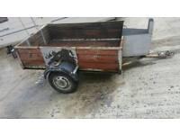 trailer camping motorbike