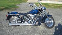 Harley Davidson Fatboy 2005 mecanique A-1 comme neuf 11 900km
