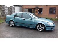 Saab petrol turbo tiptonic automatic 2003