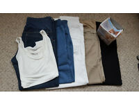 5x maternity trousers + ..