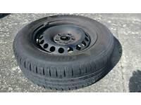 Full Size Spare Wheel and Tyre for Seat Leon Mk3 / VW Golf Mk7 / Skoda Octavia Mk3