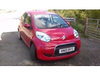 Lovely Red Citroen C1 Low milage