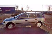 2004 Silver Vauxhall Astra 1.7l diesel estate