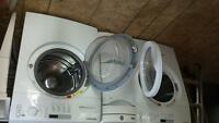 BRADA FRONT LOAD WASHER AND DRYER DRYER IS NEW