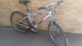 Full suspicion mountin bike