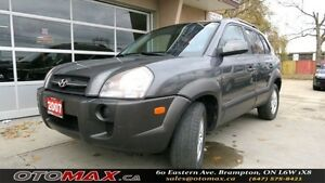 2007 Hyundai Tucson GL w/Lthr Pkg | NO ACCIDENT | CERTIFIED