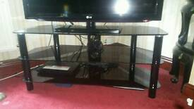 42inch black gloss tv stand