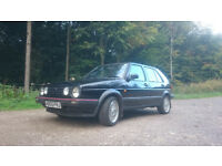 VW Volkswagen mk2 Golf driver 1.6 with BBS split rim wheels & spares - two owners from new