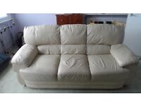 Leather sofa 3 Seater. Great Condition