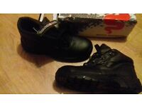 Warrior Safety Boots Size 8