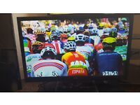 Technika 24E21B Full HD Slim 24 Inch LED TV with Freeview,bought as spare pc monitor,barely used