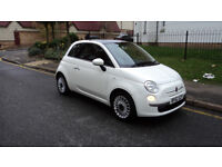 Fiat 500 1.2 Lounge Dualogic 3dr Automatic (start/stop) 2012 (12) £5250 (Not Yaris / Corsa / Micra)