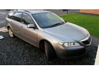 Mazda 6 estate 2.0 patrol/ lpg breaking spares / parts