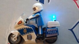 Playmobil Police Motor bike