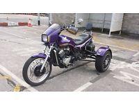 Honda VT500EF Trike. super little trike. 1985 reg C.