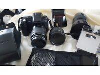 Camera and extras
