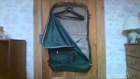 Sturdy unused suit carrier