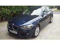 BMW 1 series 118 D dark blue metallic - reluctant sale, excellent car