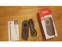 Nintendo Switch Left Joycon (Grey) - 1 month old (with receipt)