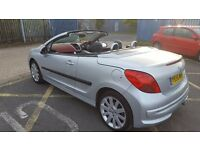 2007 207CC CONVERTIBLE 69K LOADS MOT