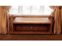 Bespoke wooden tv cabinet