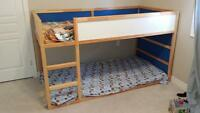 Ikea Kura bed with canopy