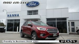 2017 Ford Escape *NEW* SE *201A*LEATHER* 4WD 1.5L ECOBOOST
