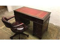 *WANTED* All styles of leather top writing desks, Chesterfield sofas & Armchairs