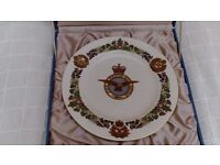 Royal Air Force (RAF) 50th Anniversary Plate by Spode Limited Edition. Boxed, with Certificate