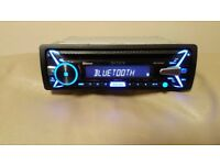 CAR HEAD UNIT SONY N4100BT MP3 CD PLAYER WITH BLUETOOTH USB AUX 4x 55 AMPLIFIER AMP STEREO RADIO BT